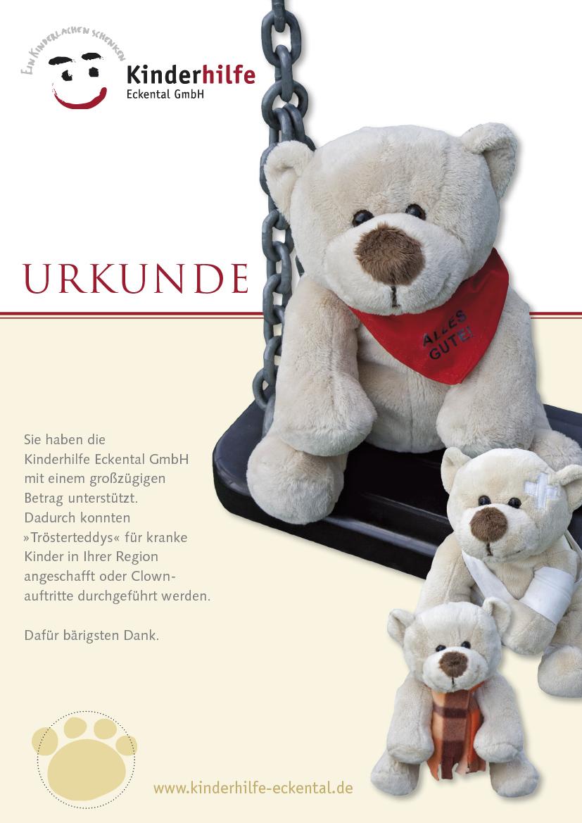 Sehr gerne unterstützen wir jährlich die Kinderhilfe Eckental GmbH, eine Tradition die uns am Herzen liegt